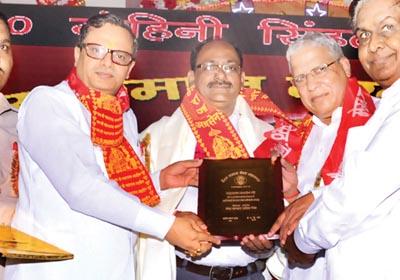 Awarded by Shri                              Rajendra Agarwal Member of Parliament                              (MP Meerut) and Shri Vineet Agarwal Sharda (Politician), Shri Shanti                              Swaroop Gupta (Chief Secretary of Akhil Bhartiya Vaish Mahasabha) to Mr. Mahesh Sharma For Best                              Matrimonials Services